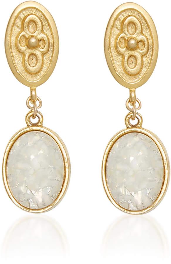 Eliza J Brinker & Apres Earrings