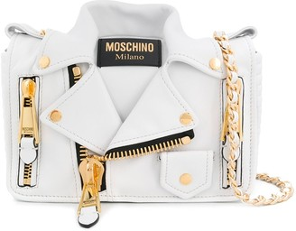 Moschino jacket style cross body bag