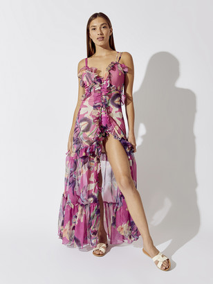 PatBO Grace Print Convertible Dress