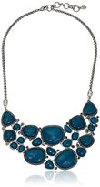 "Lucky Brand Stone Statement Necklace, 18"" + 2.5"" Extender"