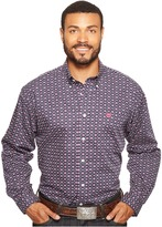 Cinch Long Sleeve Plain Weave Print Men's Clothing