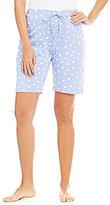 Hue HUEtopia Polka Dot Jersey Bermuda Sleep Shorts