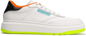 Paul Smith contrast heel sneakers