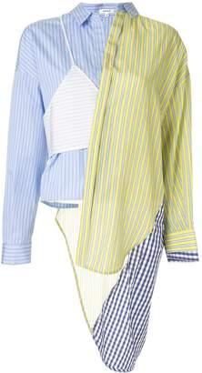 Enfold asymmetrical shirt