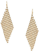 Anna & Ava Jenny Mesh Drop Earrings