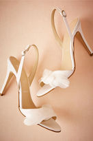 BHLDN Plumed Slingbacks