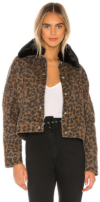 superdown Cici Snap Front Jacket