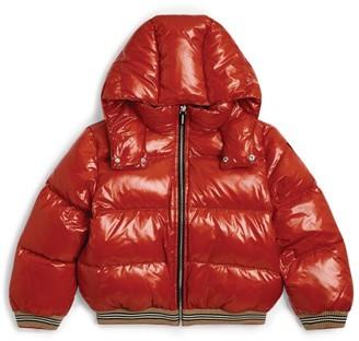 Burberry Kids Ribbed Hem Puffer Jacket (3-12 Years)