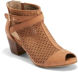 Earth Leather Bootie Sandals - Leros Gaia