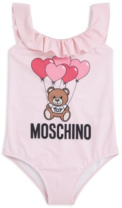 Moschino Kids Teddy Bear Balloon Swimsuit