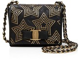 Salvatore Ferragamo Mini Ginny Stars Shoulder Bag