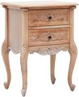 Hudson Furniture Bedside Tables Louis Bedside Table, Weathered Oak