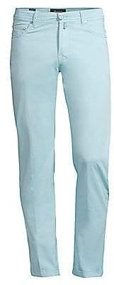 Kiton Men's Straight-Fit Five-Pocket Pants