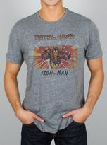 Junk Food Clothing Iron Man Tee-steel-s