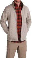 White Sierra Murphys Fleece Sweater - Zip Front (For Men)