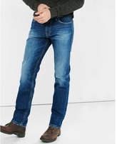 Express blue classic kingston slim leg jeans