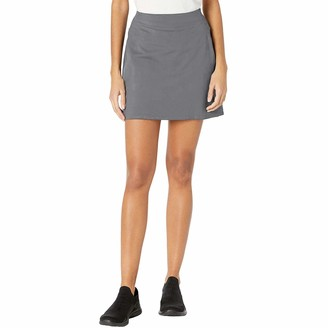 TAIPOVE Womens High Rise A Line Active Athletic Gym Outdoor Badminton Swim Skort Grey
