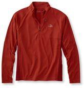L.L. Bean Ridge Runner Quarter-Zip, Long-Sleeve Colorblock