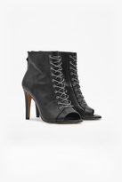 French Connection Quillie Chain Heeled Boots