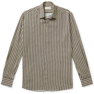 Saint Laurent Striped Voile Shirt