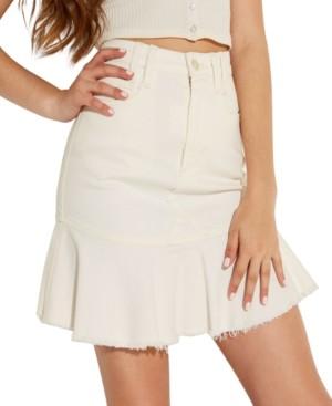 GUESS Bloom Peplum Mini Skirt