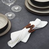 Crate & Barrel Viggo Napkin Ring