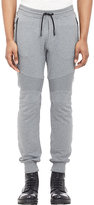 Belstaff Men's Ashdown Moto Sweatpants-GREY, LIGHT GREY