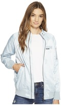 Members Only Washed Satin Ex-Boyfriend Jacket Women's Coat