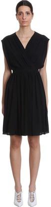 Mauro Grifoni Dress In Black Acrylic