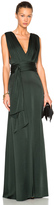 Victoria Beckham Draped Floor Length Dress
