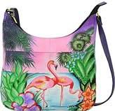 Anuschka Anna Handpainted Leather Medium Shopper Bag-