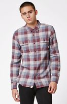 Vans Alameda Port Plaid Flannel Long Sleeve Button Up Shirt