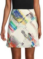 Robert Graham Rachael Printed Mini Skirt