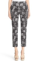 Max Mara Women's Paggio Graphic Print Crop Pants