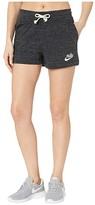Nike NSW Gym Vintage Shorts (Black/Sail) Women's Shorts