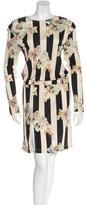 Suno Floral-Print Midi Dress