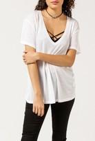 Anine Bing Deep V-Neck T-Shirt