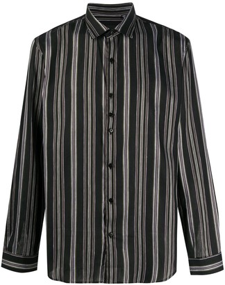 Costumein Horizontal-Stripe Long-Sleeved Shirt