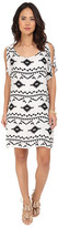 BB Dakota Melody Symbol Printed Rayon Dress