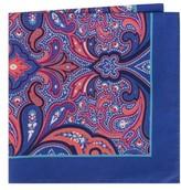Ted Baker Men's Royal Paisley Silk Pocket Square