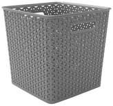 """Room Essentials Y-Weave Basket Bin - 11"""""""