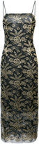 ADAM by Adam Lippes embroidered fitted midi dress