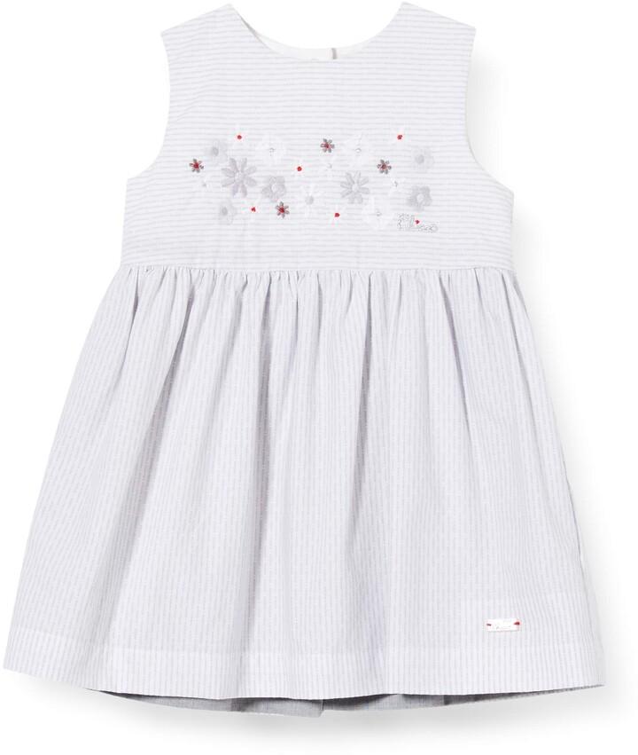 Chicco Baby Girls' Abito Senza Maniche Reversibile Dress