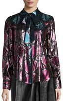 Marc Jacobs Python Button Front Shirt