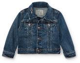 Ralph Lauren Girl Embroidered Denim Jacket