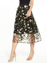 Very Embroidered Full Skirt
