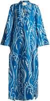 LA DOUBLEJ EDITIONS The Kaftan silk-twill dress