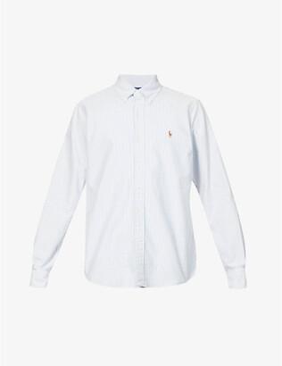 Polo Ralph Lauren Oxford-fit single-cuff cotton shirt