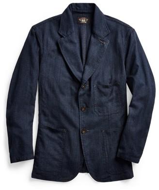 Ralph Lauren Indigo Woven Sport Coat