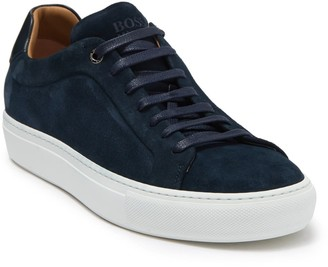 HUGO BOSS Mirage Suede Tennis Sneaker